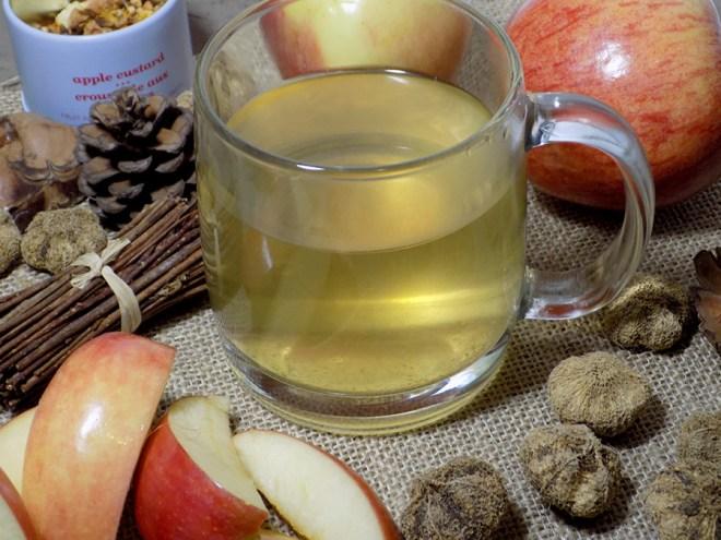 DAVIDsTEA apple custard tea review