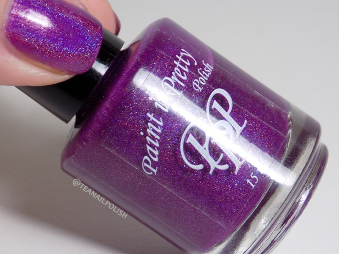 Paint it Pretty Polish Everything Is Better Purple - Bottle Thumb