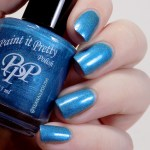 Paint it Pretty Polish I Dream in Teal Swatches - Artificial Lighting