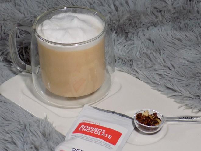 Citizen Tea Rooibos Chocolate Tea Review - Latte