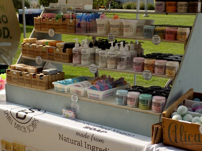 Small Batch Soaps at Etsy Made in Canada
