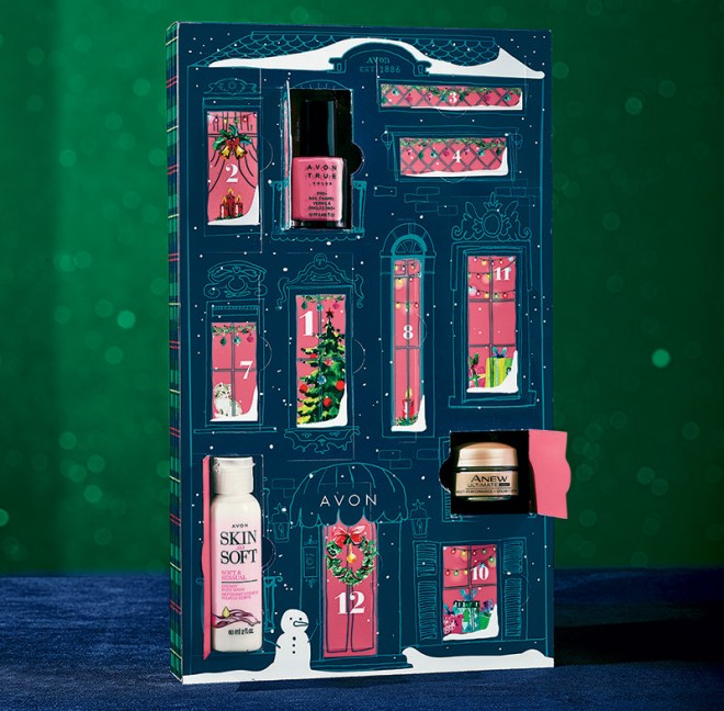 Avon Canada Beauty Advent Calendar 2018