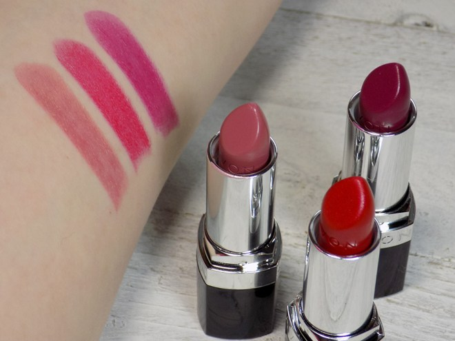 Avon Top Shades For Fall - The Cremes - Toasted Rose - Berry Berry Nice - Wine With Everything