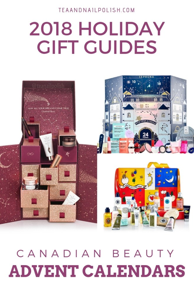 Canadian Beauty Advent Calendars for 2018: The Body Shop, Sephora Collection, L'Occitane, Yves Rocher, Atelier Cologne, Charlotte Tilbury & More