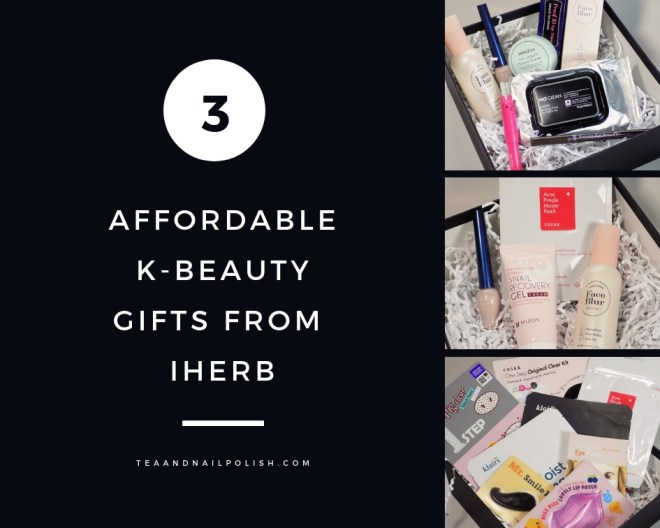 K Beauty Gifts with iHerb - 3 Affordable Gift Sets