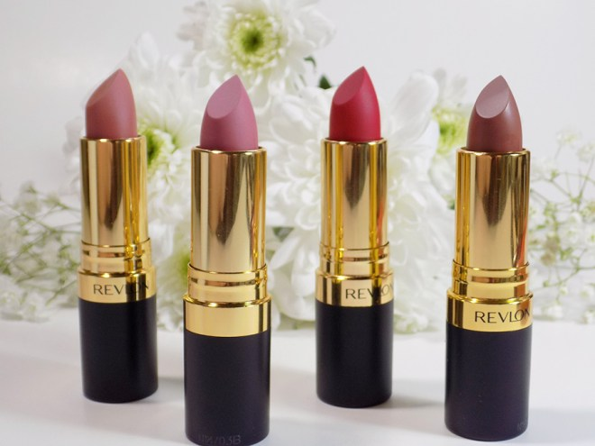 Revlon Super Lustrous Matte Lipstick Swatches