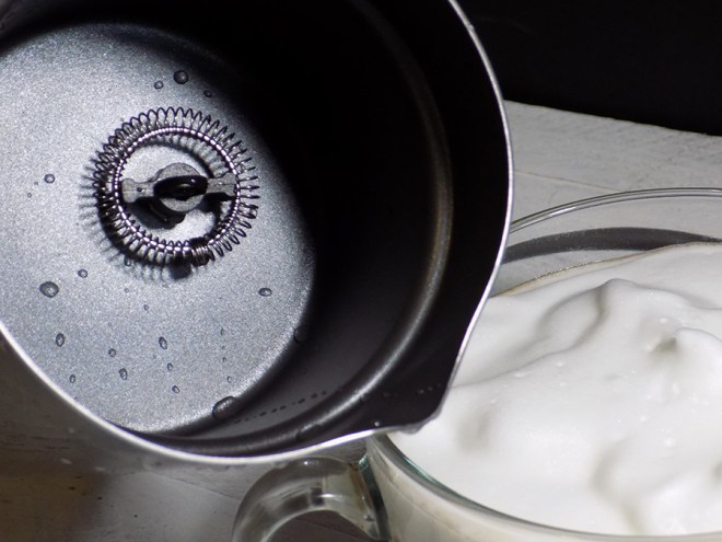 Chef Star Milk Frother Review - Cleaned Inside Frother