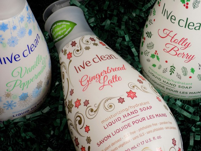 Live Clean Holiday Hand Soaps - Gingerbread Latte Review