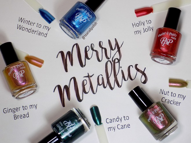 Paint it Pretty Metallic Holiday Collection 2018