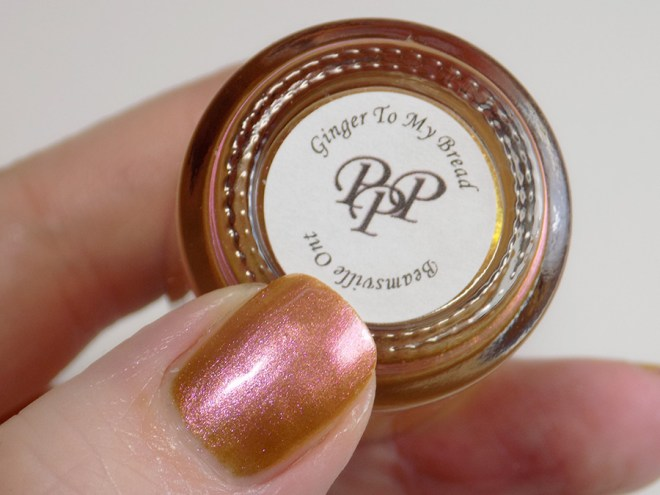 Paint it Pretty Polish Ginger to my Bread 2 -- Metallic Holiday Collection 2018