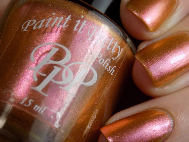 Paint it Pretty Polish Ginger to my Bread - Metallic Holiday Collection 2018