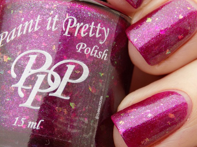 Paint it Pretty Polish Glamour and Glitz - December 2018 POTM - Natural Light Swatches