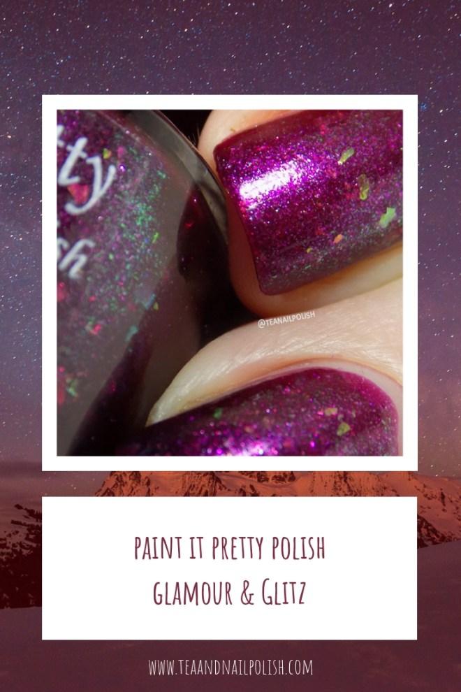 Paint it Pretty Polish Glamour and Glitz - December 2018 POTM - Pinterest