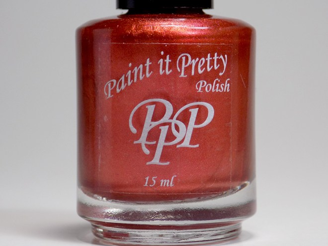 Paint it Pretty Polish Holly to my Jolly - Metallic Holiday Collection 2018 - bottle
