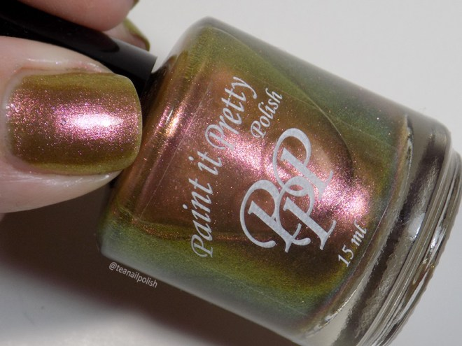 Paint it Pretty Polish Nut to My Cracker -- Metallic Holiday Collection 2018