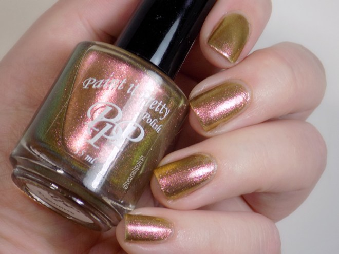Paint it Pretty Polish Nut to My Cracker - Metallic Holiday Collection 2018