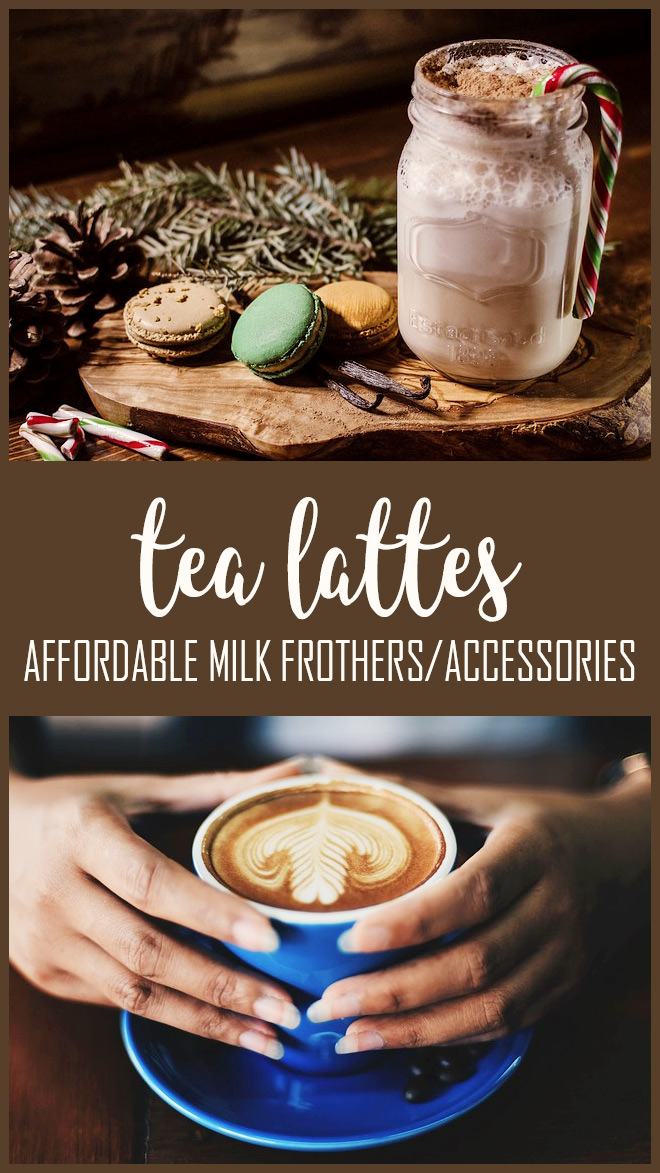 Best Affordable Frother for Tea Lattes Canada - How to Make Tea Lattes - Cheap Milk Frothers Amazon