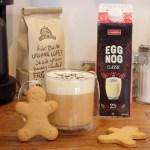 Eggnogg Latte with Davidstea Gingerbread Tea