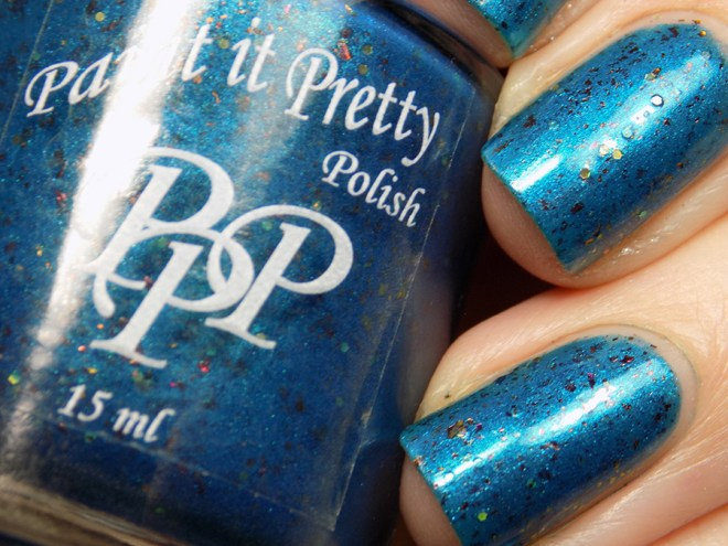 Paint it Pretty Polish PPU I Am The Only One Of My Kind Swatches 3