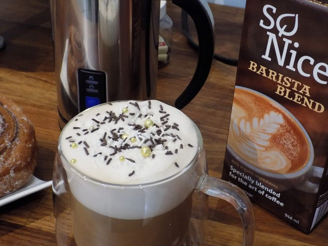 So Nice Barista Blend Non Dairy Alternative for Tea Lattes Review
