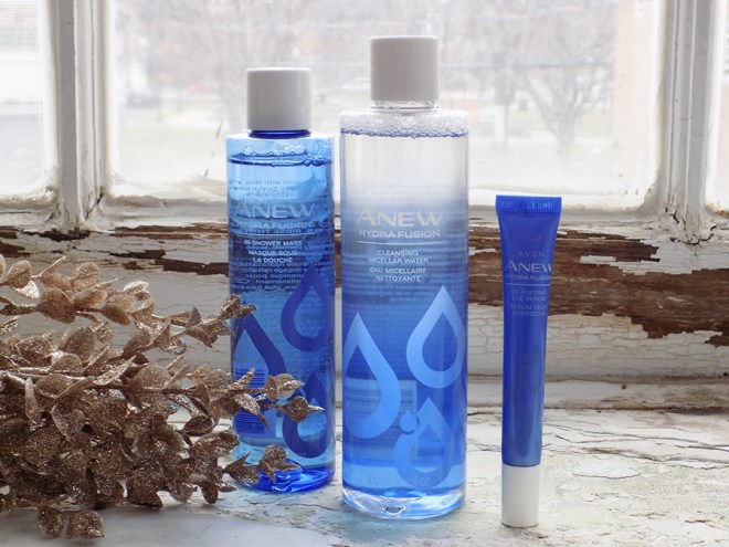 Avon ANEW Hydra Fusion Line Review