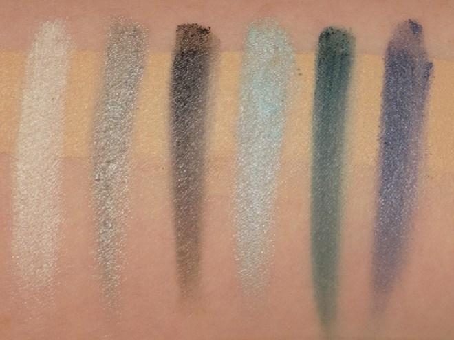 LA Colours Supernatural 12 Shadow Palette Swatches with Primer A