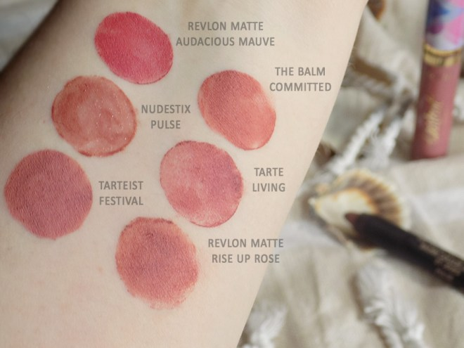 My Perfect My Lips But Better Lipstick Shades - Swatches 2 Names