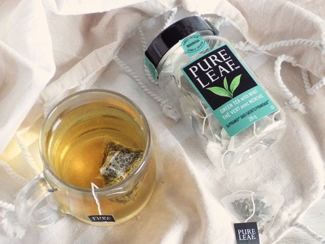 Pure Leaf Green Tea with Mint Review 1
