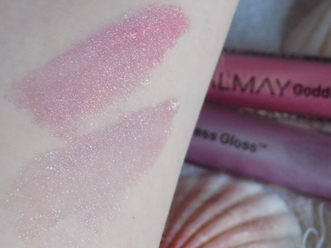 Almay Goddess Gloss Lip Gloss Swatches and Review