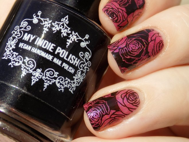 Turtle Tootsie A Rose is a Rose - BPL024 - Rose Stamping 2