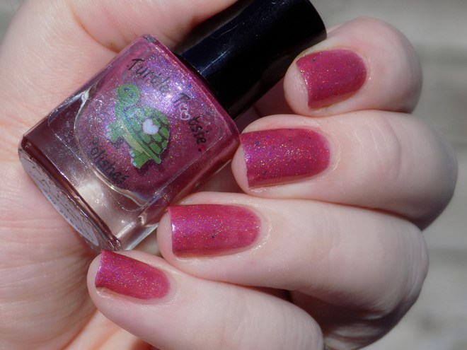Turtle Tootsie A Rose is a Rose Swatch