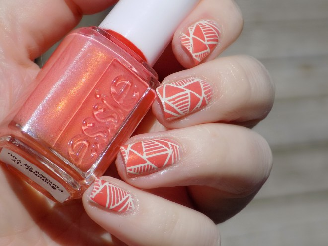 Essie Fondant of You Nail Art
