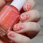 Essie Fondant of You Nail Art