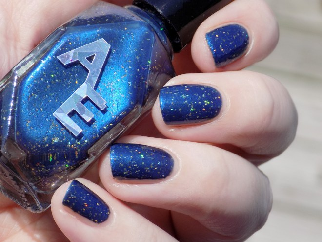 Alter Ego Whirlin In The Moonlight Polish Pickup Aug 2019 Sunlight Swatch