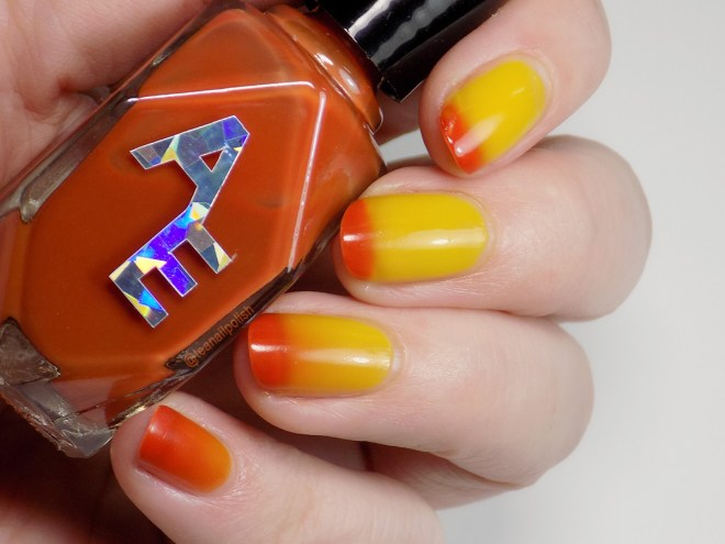 Alter Ego Magical Amber Polish Pickup September 2019 - Thermal Polish Transition