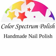 Color spectrum polish logo