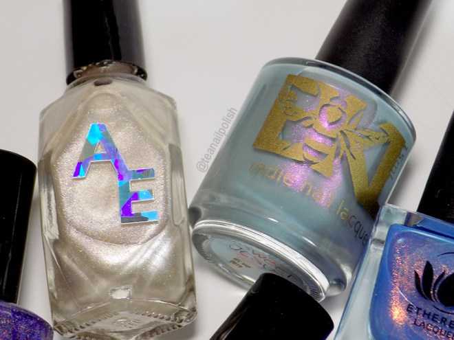 Indie Expo Canada 2019 VIP Bag Polishes - Alter Ego Golden Brilliance and Bees Knees Sweet Jesus