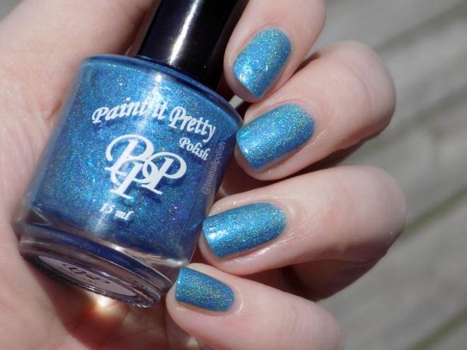 Paint it Pretty IEC Blue Jays Way - sunlight swatch