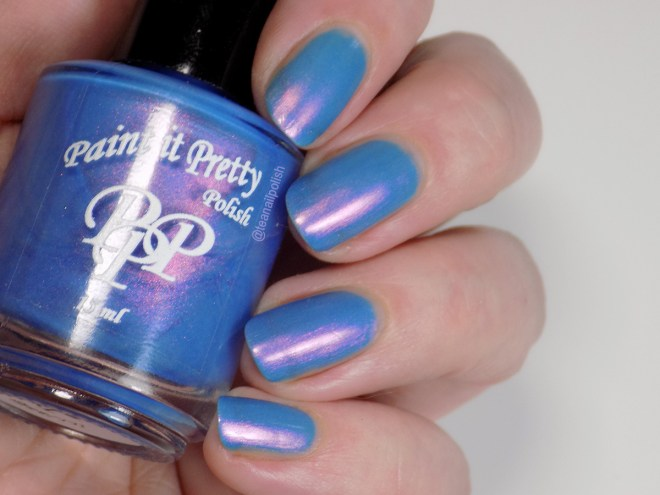 Paint it Pretty Polish - Go For It - Indie Love & Light - Swatch in Artificial Lighting 1