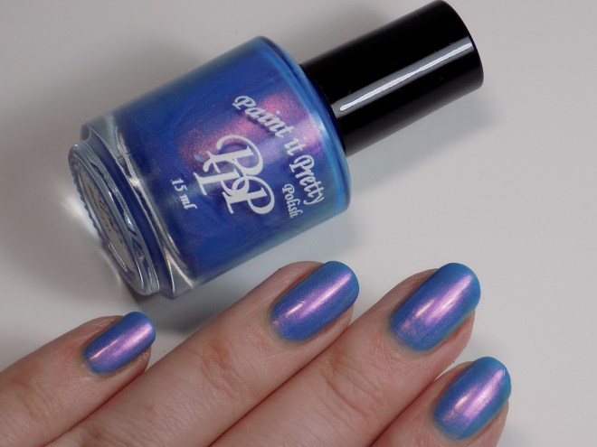 Paint it Pretty Polish - Go For It - Indie Love & Light - Swatch in Artificial Lighting 2