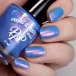 Paint it Pretty Polish - Go For It - Indie Love Light - Swatch in Artificial Lighting 3