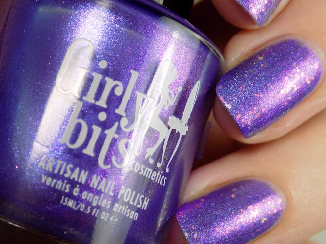 Girly Bits Kiss This Guy Swatches - Misheard Lyrics Collection - with Tony Danza Topper Closeup