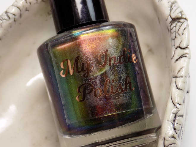 My Indie Polish Merry Christmas Bottle Shot