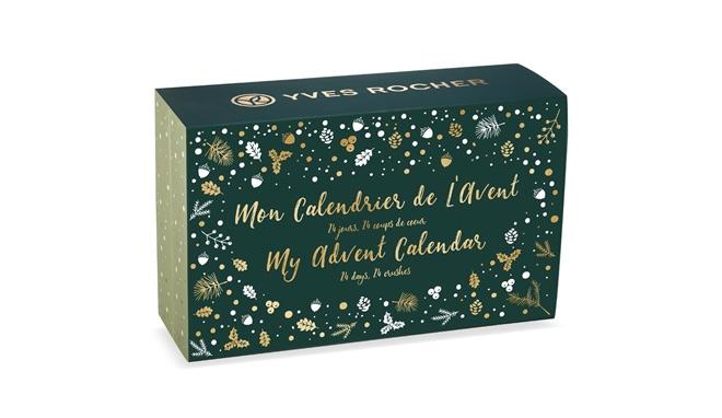 Yves Rocher Beauty Advent Calendar 2019 - Packaging