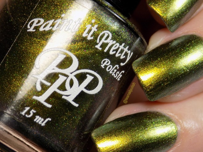 Paint it Pretty Polish Bah Humbug Swatches 1
