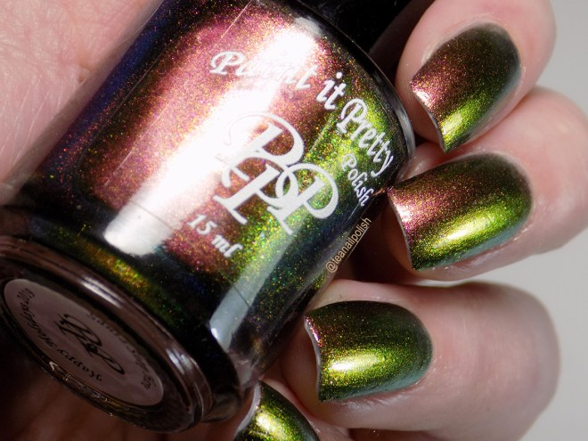 Paint it Pretty Polish Santa Stop Here Swatches 3