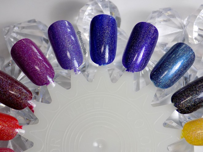 Alter Ego Whats Your Sign holo topper swatches 2