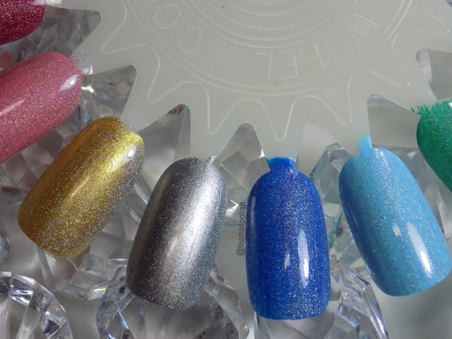 Alter Ego Whats Your Sign holo topper swatches 4