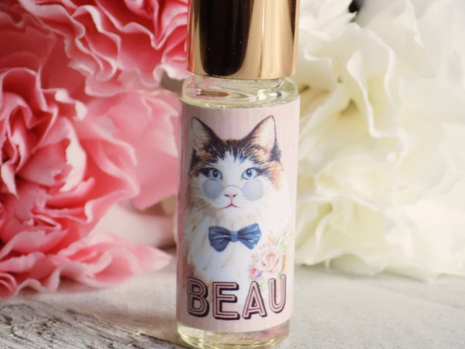 Death and Floral Cat Customs Indie Perfume Review - Beau