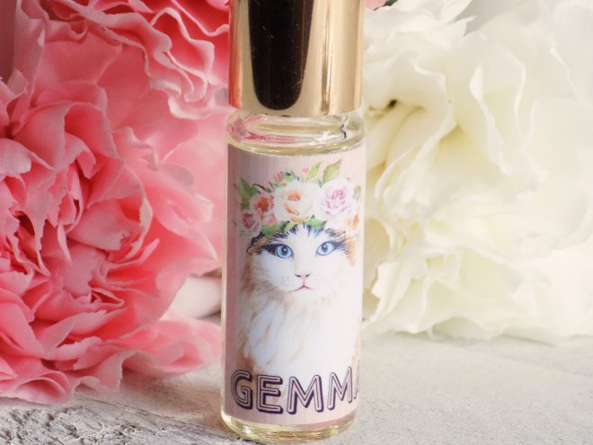 Death and Floral Cat Customs Indie Perfume Review - Gemma